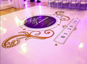 Custom Vinyl Dancefloor