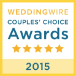 2015 WeddingWire Couples' Choice Award Winner