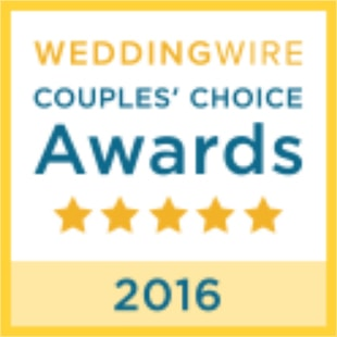 2016 WeddingWire Couples' Choice Award Winner