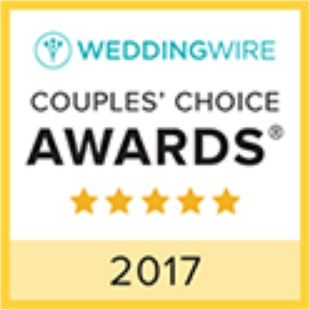 2017 WeddingWire Couples' Choice Award Winner