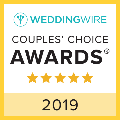 2019 WeddingWire Couples' Choice Award Winner