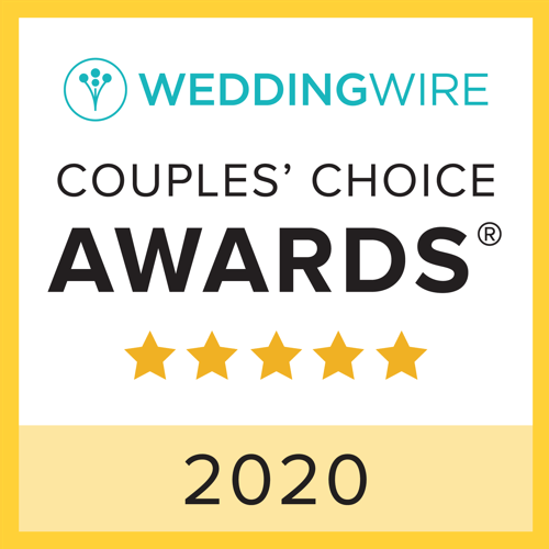 2020 WeddingWire Couples' Choice Award Winner